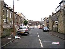 SE0724 : Rose Street - Hopwood Lane by Betty Longbottom