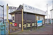 TQ3103 : Volks Electric Railway, Brighton, East Sussex by Christine Matthews