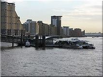 TQ3680 : Canary Wharf Pier by Dr Neil Clifton