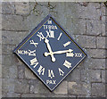 SE8022 : Whitgift Church Clock - restored by George Robinson