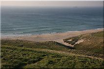 SW3526 : Whitesand Bay by Hugh Venables