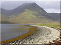 NG5621 : Loch Slapin shore by Nigel Brown