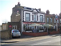 TQ7369 : The Horseshoe Public House, Strood by David Anstiss