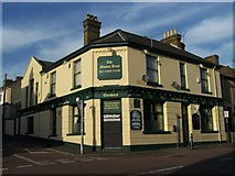 TQ7369 : The Weston Arms Public House, Strood by David Anstiss