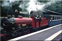 NY1700 : The 'River Mite' at Dalegarth by M J Richardson