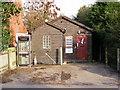 TM2268 : Worlingworth Telephone Exchange by Geographer