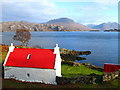 NG7855 : Cottage on Applecross, near Inverbain by Lisa Jarvis