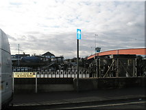 TQ0202 : View across the Arun from The Steam Packet by Basher Eyre