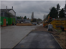 TL4661 : New guided busway route by Hugh Venables