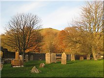 ST6601 : View from the graveyard - Cerne Abbas by Sarah Smith