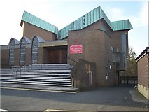TQ7369 : The Catholic Church of the English Martyrs, Strood by David Anstiss
