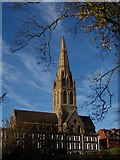 SX9192 : St Michael's church, Exeter by Derek Harper