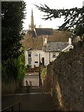 SX9164 : Steps to St Marychurch Road, Torquay by Derek Harper