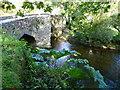 SX0671 : Helland packhorse bridge by Jonathan Billinger