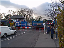 NZ5315 : Level crossing on Guisborough Road by Stephen McCulloch