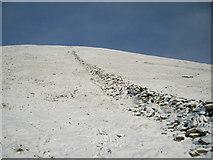 NY3412 : Wall, Dollywaggon Pike by Michael Graham