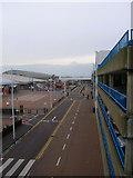 TQ3303 : Entertainment and Parking, Brighton Marina by Simon Carey