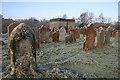 NY3976 : Canonbie Parish Churchyard by Walter Baxter