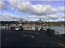 SH5873 : Garth Pier Entrance, Bangor by mick finn