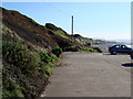 NX9807 : Nethertown Coastal Car Park looking south east by Tony Peacock