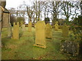 SD7656 : St Bartholomew Church, Tosside, Graveyard by Alexander P Kapp