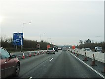 O0939 : Approaching Junction 6 on the M50 by Ian Paterson