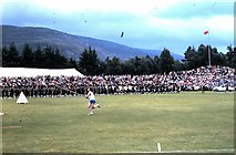 NO1491 : Braemar Highland Games (1979) by Stanley Howe