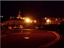 NS5666 : Car parking near Yorkhill Hospitals by Stephen Sweeney