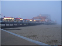 TG5307 : Sea Mist at Great Yarmouth Pier by Andy Jamieson