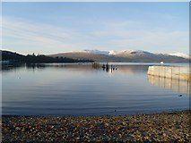 NS3882 : Looking out to Loch Lomond by Stephen Sweeney