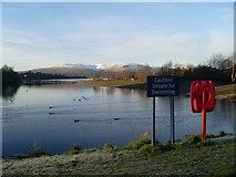NS3882 : No swim zone by Loch Lomond Shores by Stephen Sweeney