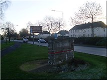 NS3881 : Various signs by Luss Road by Stephen Sweeney