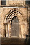 TA2609 : South Transept doorway by Richard Croft