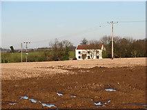 TG2834 : Gorrel Hill Farm by Evelyn Simak