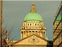 J3374 : Dome, Belfast City Hall (4) by Albert Bridge