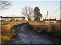 SJ7413 : Lane to Lilyhurst Farm by Row17