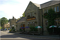 SK2572 : The Devonshire Arms at Baslow by Row17