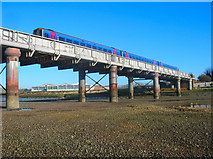TQ2105 : Adur Railway Bridge by Simon Carey