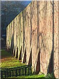 SU7273 : Prison wall, Reading by Andrew Smith