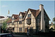 SP2055 : Shakespeare's Birthplace in 1978 by John H Darch