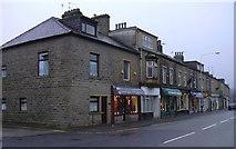 SD8122 : Shops Bacup Road by Robert Wade