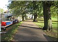 TL4559 : Riverside footpath by Given Up
