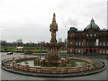NS6064 : Doulton Fountain by G Laird