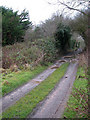 TG2726 : View north along Leathercoat Lane by Evelyn Simak