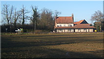 TM1172 : The Auberge seen from Yaxley Road by Andrew Hill