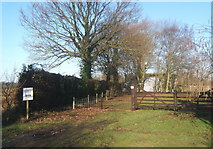 TM1172 : Caravan Club certificated location near Thornham Parva by Andrew Hill