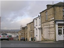 SE1431 : Lime Street - Great Horton Road by Betty Longbottom