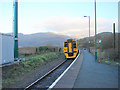SH6214 : An Arriva Wales train departing from Morfa Mawddach Station by John Lucas
