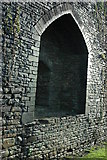 ST1587 : Arch in the wall above the North Dam, Caerphilly Castle by Philip Halling