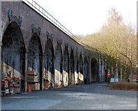 SJ6604 : Coalbrookdale viaduct, Shropshire by Andy F